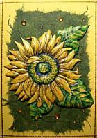 karte-sonnenblume-gebraegt