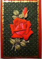 karte-rose-papier