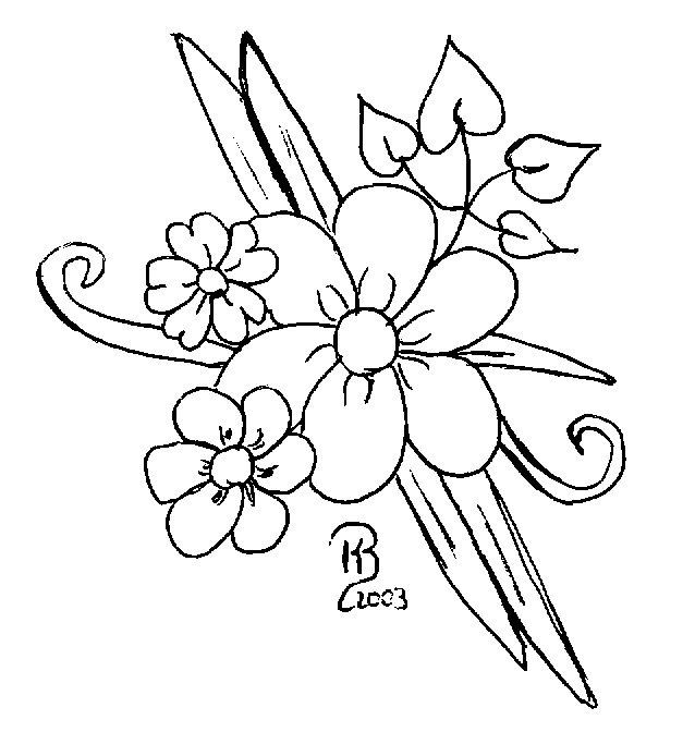 Tolle Detaillierte Malvorlagen Von Blumen Ideen - Ideen färben ...